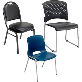 Interion® Stacking Chairs