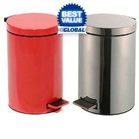 Medical Step-On Steel Waste Cans