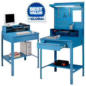 Open Base Shop and Receiving Desks