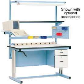 Pro-Line Ergo-Line Hand Crank or Electric Height Adjustable Workbenches