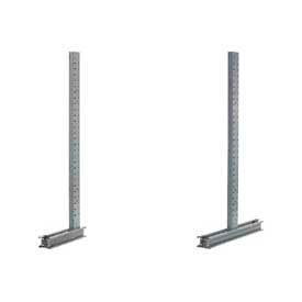 Global Approved (1000 Series) Uprights - Simple - Double Sided - 16200 Lb Max. Capacité