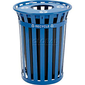 Global Industrial™ Outdoor Steel Recycling Receptacles