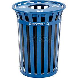 Global Industrial™ extérieure acier recyclage des récipients
