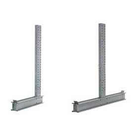 Global Approved (4000 - 5000 Series) Uprights - Simple - Double Sided - 57200 Lb Max. Capacité