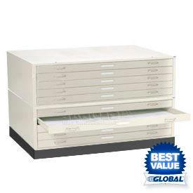 Interion® - Steel Blueprint Flat File Cabinets