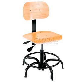 Bio Fit® - Ergonomic Plywood Shop Stool