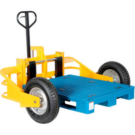 Manual All Terrain Pallet Jack Trucks