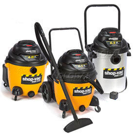 Shop-Vac® Industrial Wet Dry Vacuums