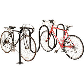 Global Industrial™ Wave Bike Racks