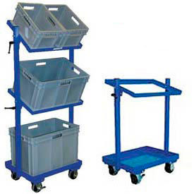 Multi-Tier Stock Carts