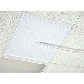 Ceiling Panel With Drain