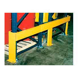 Expandable Protective Steel Rail Barrier