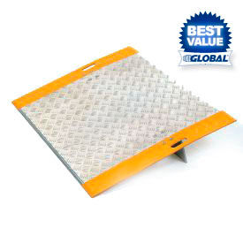 Plaques de quai d'aluminium de haute-Traction