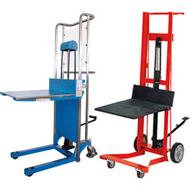 Manual Hand Winch Amp Foot Pedal Operated Lift Trucks Hand