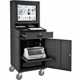 Coffret armoire informatique pour les écrans LCD