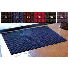 Waffle Pattern Carpet Entrance Mats with Fashion Border