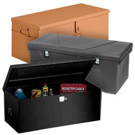 Boîtes de stockage portable de chantier & coffres