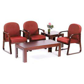 Boss Chair -  Oak Or Mahogany Coffee Tables & End Tables