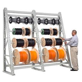 10,000 lb. High Capacity Reel Rack