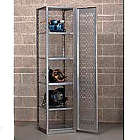 All-Welded Compact Visible Storage Locker