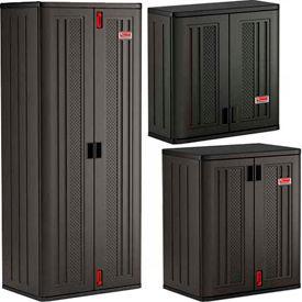Suncast Commercial Plastic Storage Cabinets