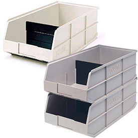 Stackable Plastic Shelf Bins