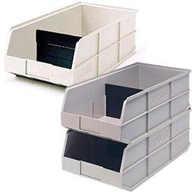 Stackable Plastic Shelf Bins