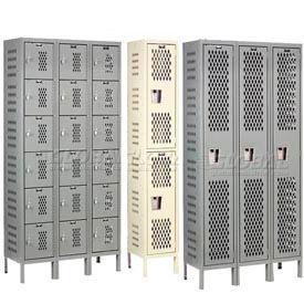 Hallowell Heavy-Duty Ventilated Steel Lockers