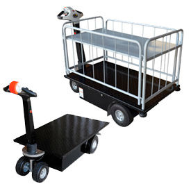 Self-Propelled Battery Powered Platform Trucks
