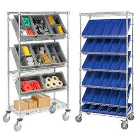 Easy Access Container Stock Trucks & Carts