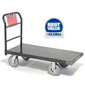 Global Industrial™ Steel Deck Platform Trucks