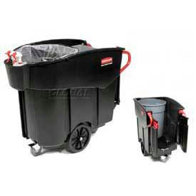 Collecteur de déchets Mobile Rubbermaid® Mega Brute