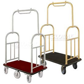 Glaro Ball-Top Bellman Luggage Carts