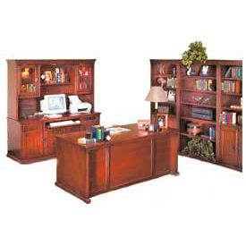 Desks traditional wood desks kathy ireland home by - Kathy ireland bedroom furniture collection ...