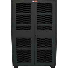 Extra Heavy Duty ventilé armoires de rangement - capacité de plateau de 1800 livres