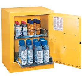 Justrite® Aerosol Can Safety Cabinet