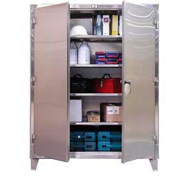 Heavy Duty Stainless Steel 12 Gauge Cabinets