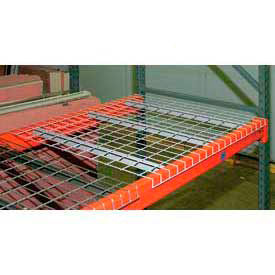 Wireway Husky Pallet Rack - Wire Mesh Decking - Galvanized Steel