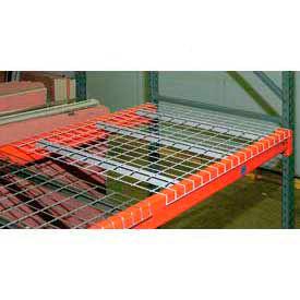 Wireway Husky Pallet Rack - Wire Mesh Decking - Galvanized Steel
