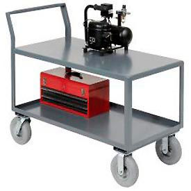 Global Industrial™ Low Deck Sloped Handle Service Trucks -KD