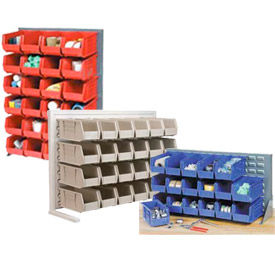 Single-Sided Pick Racks With Stacking Bins