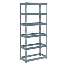 6' High Boltless Steel Shelving Without Decking