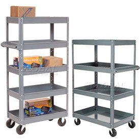 Heavy Duty KD Steel Shelf Storage Trucks