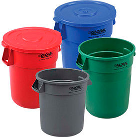 Global Industrial™ Trash Cans