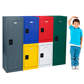24 Gauge Extra Wide Steel Storage Lockers