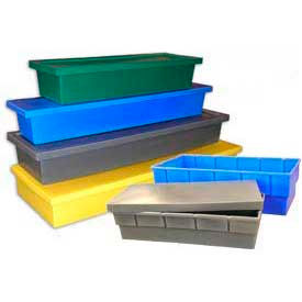 Long Nest & Stack Storage Containers With Lids