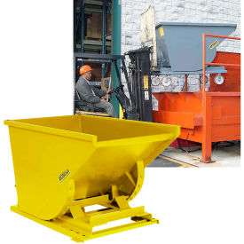 Global Industrial™ Self-Dumping Steel Forklift Hoppers