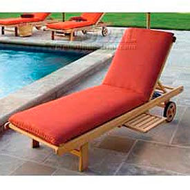 Outdoor Wood Chaises