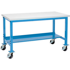 Mobile Heavy Duty Tubular Leg Production Workbenches