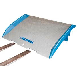 Bluff® Speedy Board® Steel Dock Boards with Forklift Tine Notches
